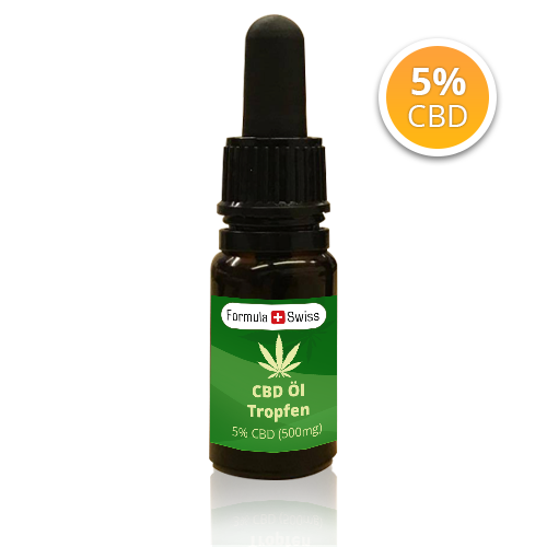 Formula Swiss 500 mg CBD olje